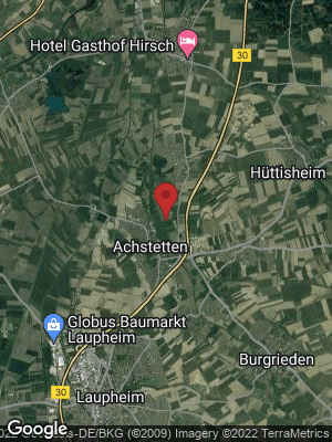 Google Map of Achstetten