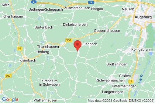 Karte Langenneufnach