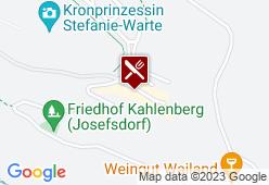 Restaurant Skyline im Hotel am Kahlenberg - Karte