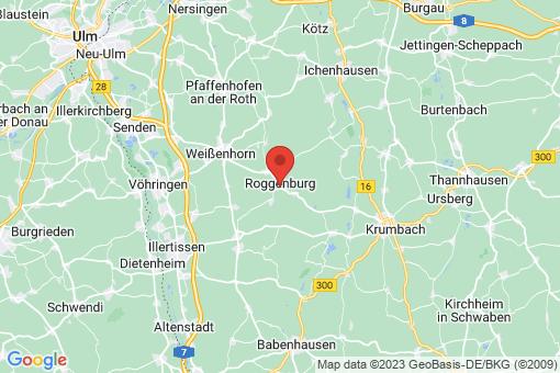 Karte Roggenburg