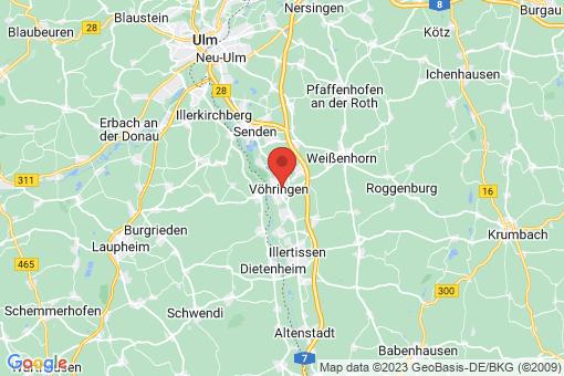 Karte Vöhringen