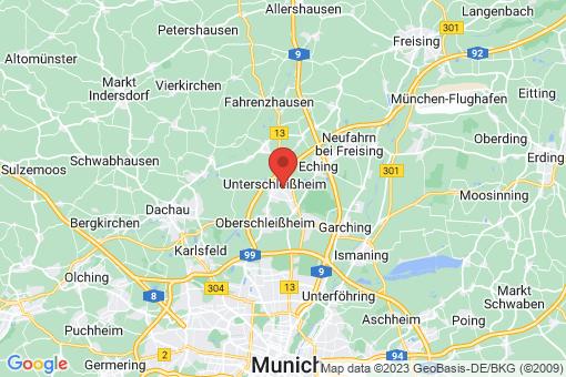 Karte Unterschleißheim