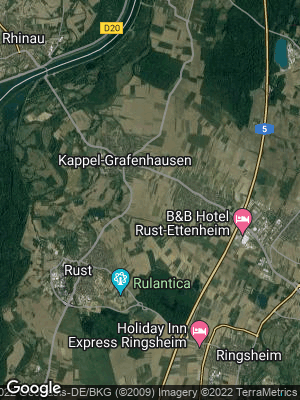 Google Map of Kappel-Grafenhausen