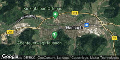 Google Map of Hausach