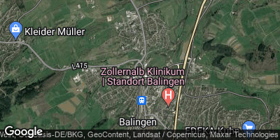 Google Map of Balingen