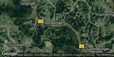 Google Map of Burladingen