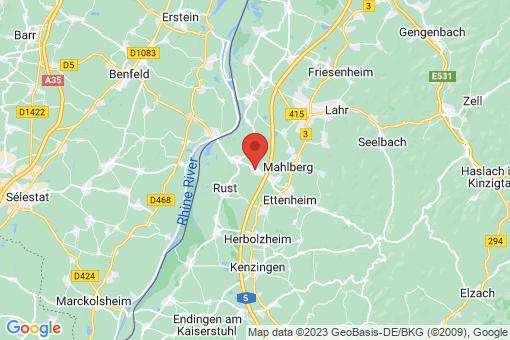 Karte Kappel-Grafenhausen