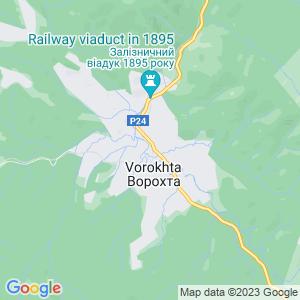 Карта города Ворохты