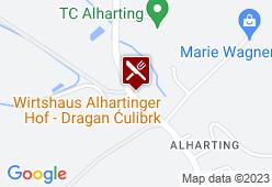 Alhartingerhof - Karte
