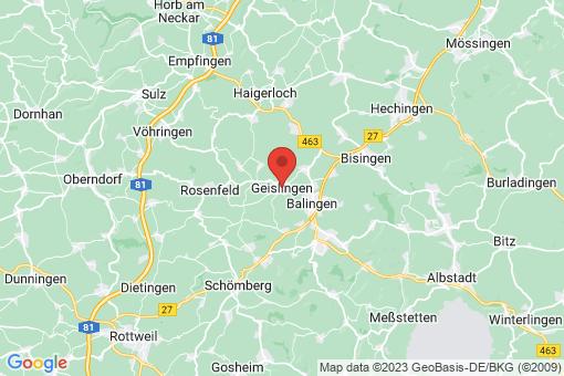Karte Geislingen