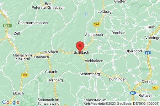 Karte Schiltach