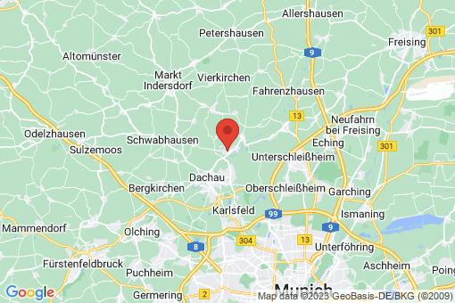 Karte Hebertshausen