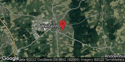 Google Map of Weißenhorn