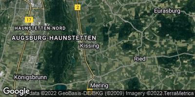 Google Map of Kissing