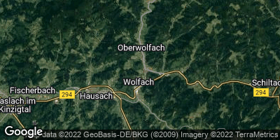 Google Map of Wolfach