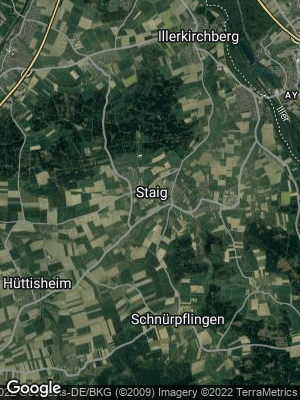 Google Map of Staig