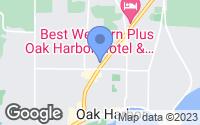 Map of Oak Harbor, WA