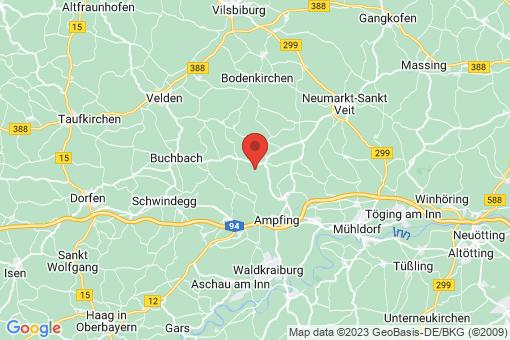 Karte Oberbergkirchen