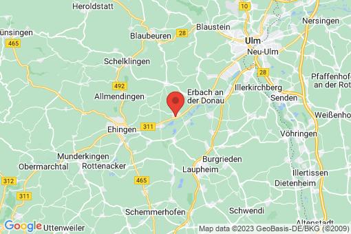 Karte Oberdischingen