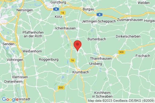 Karte Neuburg an der Kammel