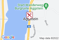 Taverne Burgruine Aggstein - Karte