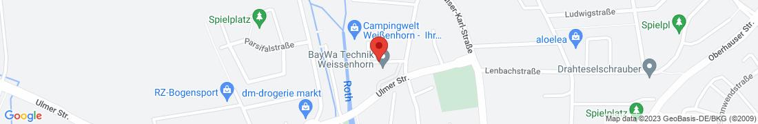 BayWa Technik Weissenhorn Anfahrt