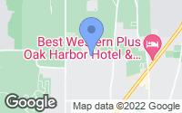 Map of Oak Harbor, WA