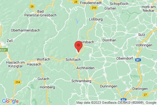 Karte Schenkenzell