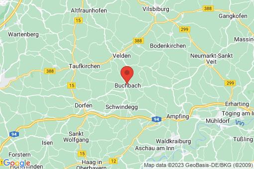 Karte Buchbach