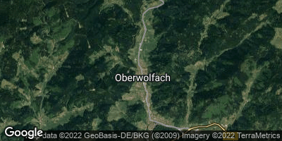 Google Map of Oberwolfach