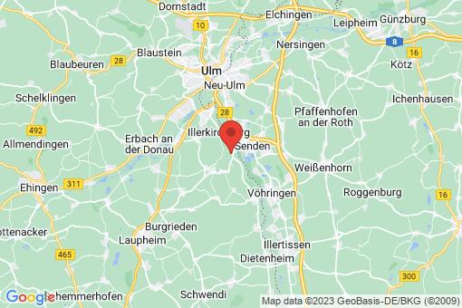 Karte Illerkirchberg