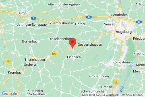 Karte Ustersbach
