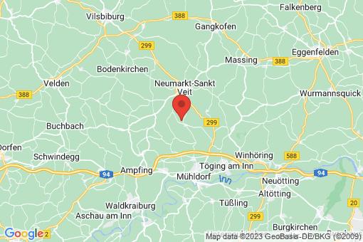 Karte Niederbergkirchen