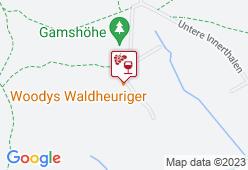 Woody's Waldheuriger - Karte