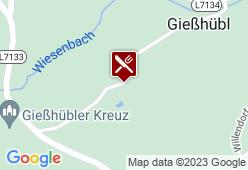 Jausenstation Gießhübel - Karte