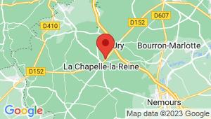 Carte de localisation du centre de contrôle technique LA CHAPELLE LA REINE
