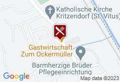 Gastwirtschaft zum Ockermüller - Karte