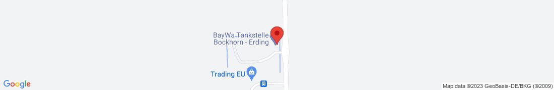 BayWa Tankstelle Erding Anfahrt