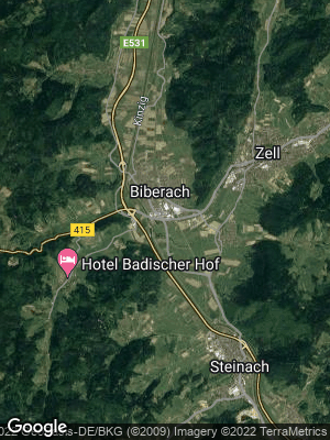 Google Map of Biberach