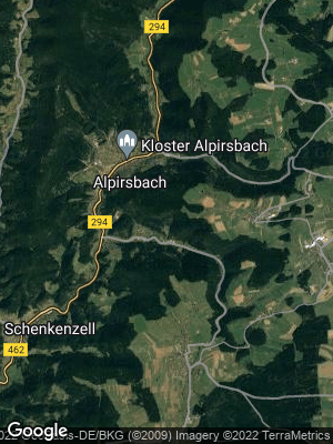 Google Map of Alpirsbach