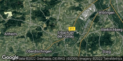 Google Map of Erbach