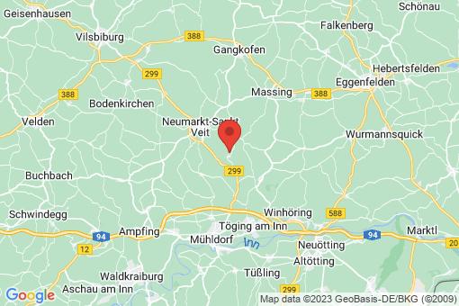 Karte Niedertaufkirchen