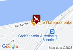Hafenschenke - Karte