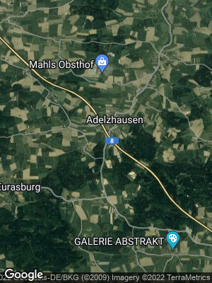 Google Map of Adelzhausen