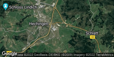 Google Map of Hechingen