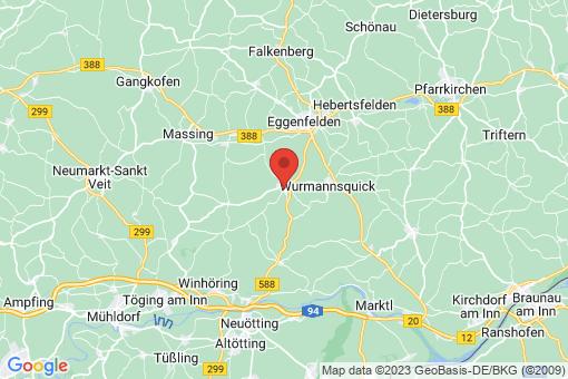 Karte Mitterskirchen