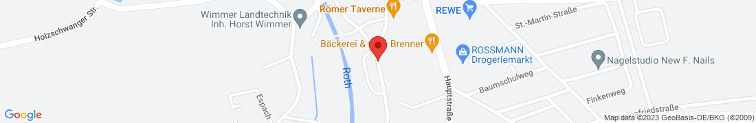BayWa Agrar Pfaffenhofen/Roth Anfahrt