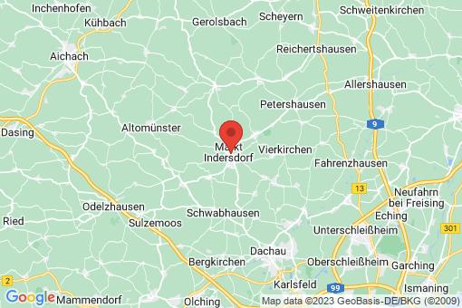 Karte Markt Indersdorf