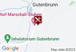 Bühnenwirtshaus Juster - Karte