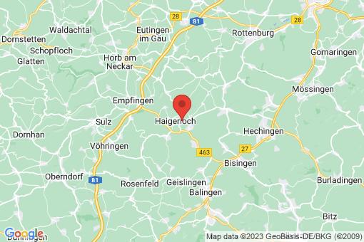 Karte Haigerloch